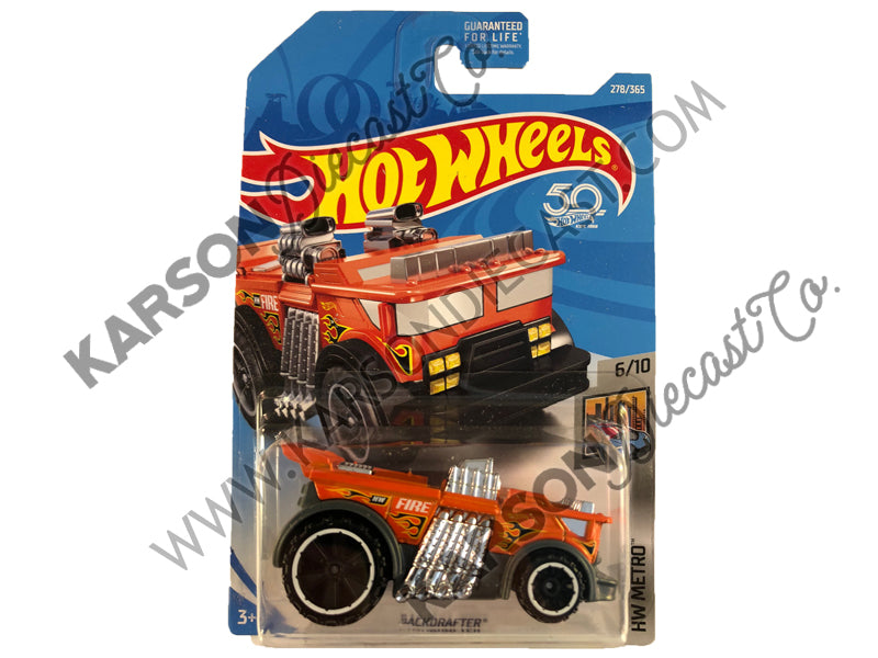 Backdrafter 50th Anniversary Metro - Hot Wheels - L2593-982M