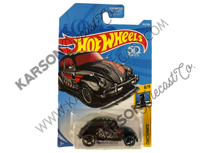 Volkswagon Beetle 50th Anniversary Checkmate - Hot Wheels - L2593-982M