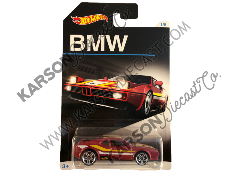 BMW M1 Anniversary Collections Series 1:64 Scale Diecast Model - Hotwheels - DJM79-959A