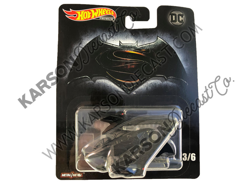 Batwing Retro Entertainment - DC Cinematic Vehicle Assortment 1:64 Scale Diecast - Hotwheels - DMC55-956L