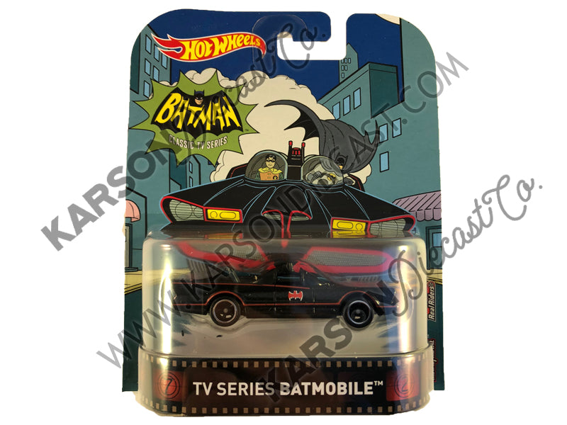 Retro Entertainment Batman Classic TV  Batmobile 1:64 Scale - Hotwheels - FVD03-956A