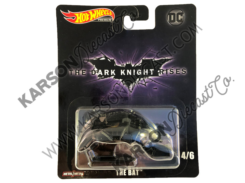 The Bat Retro Entertainment - DC Cinematic Vehicle Assortment 1:64 Scale Diecast - Hotwheels - DMC55-956L