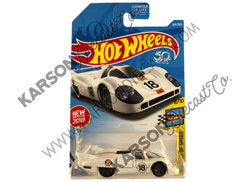 Porsche 917 LH 50th Anniversary Legends of Speed - Hot Wheels - L2593-982M