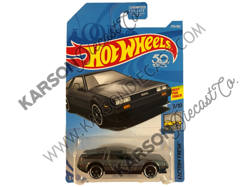 DMC Delorean 50th Anniversary Factory Fresh - Hot Wheels - L2593-982M