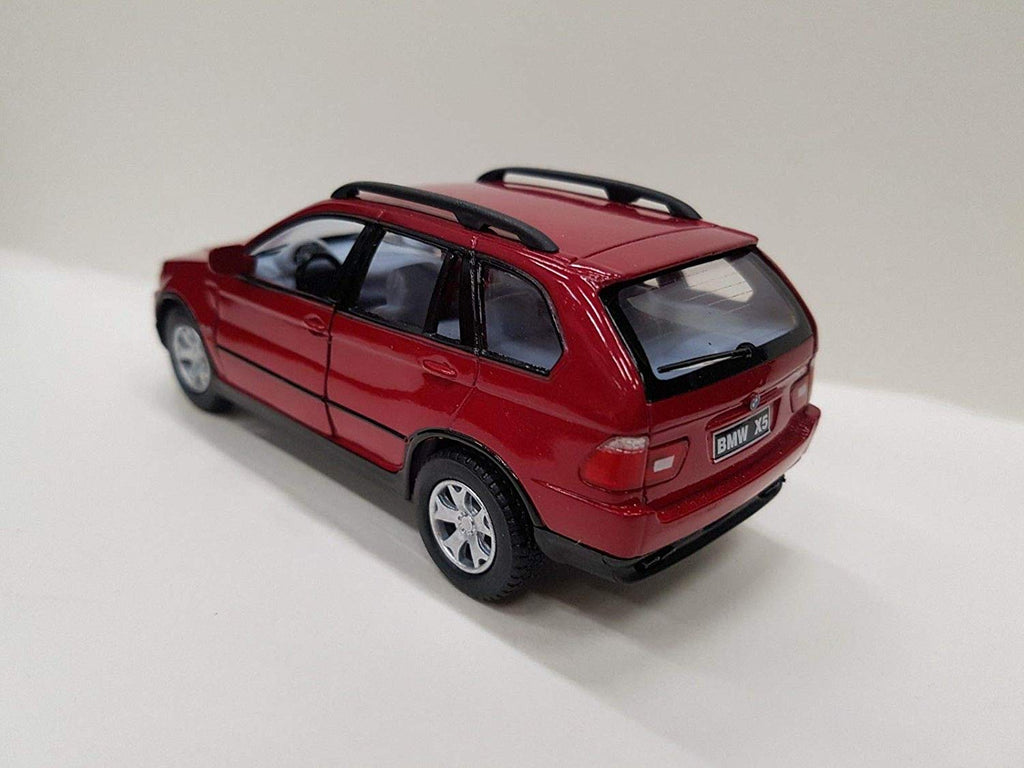 "BMW X5 SUV Red 4.5"" Diecast Model"
