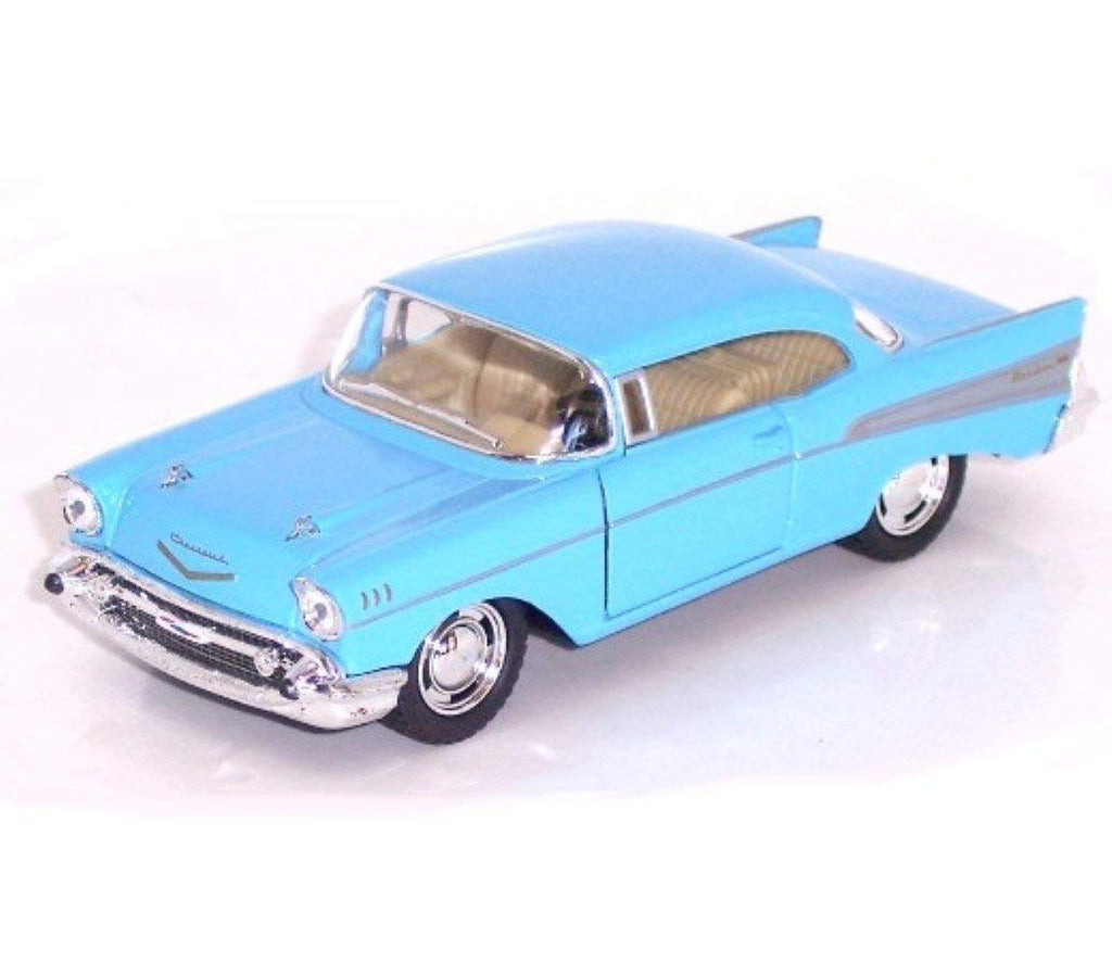 "1957 Chevy Bel Air Coupe 5"" Diecast Model Pull Back - Kinsmart - KT5313"