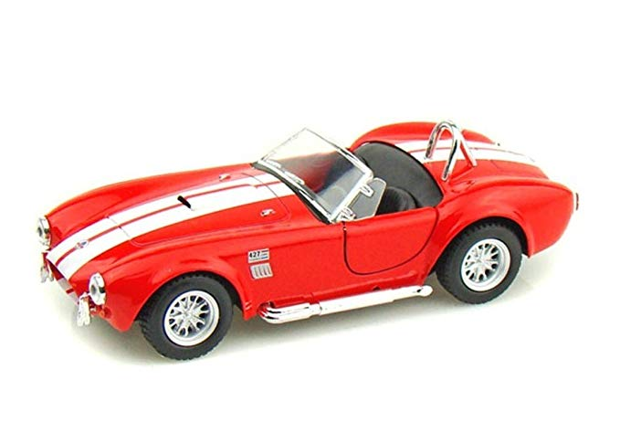 1965 Shelby Cobra 427 Set of Four 1:32 Diecast Model Pullbacks - Kinsmart - KT5322