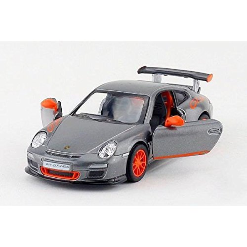 "2010 Porsche 911 GT3 RS Grey 5"" Diecast Model"