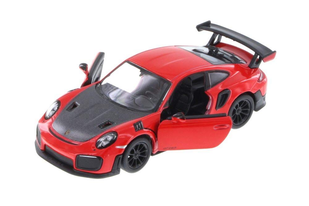 Porsche 911 GT2 RS Hard Top Red 1/36 Scale Diecast Pullback - Kinsmart - KT5408