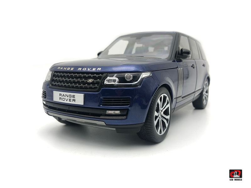 2017 Range Rover SV Autobiography Dynamic Blue 1:18 Diecast Model Car - LCD Models - LCD18001BL