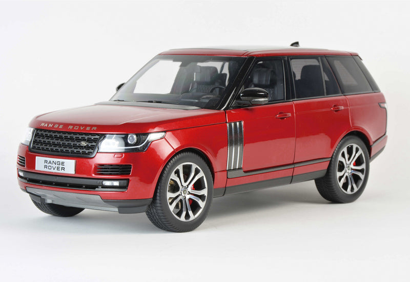 2017 Range Rover SV Autobiography Dynamic Metallic Red 1/18 Diecast Model Car - LCD Models - LCD18001RD