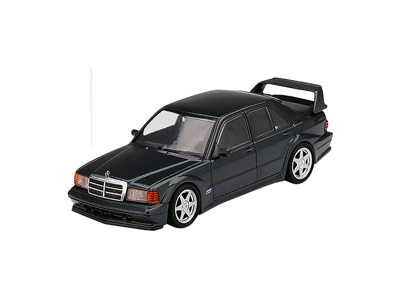 Mercedes Benz 190E 2.5-16 Evolution II Black Pearl Metallic Limited Edition to 2400 pieces Worldwide 1:64 Diecast Model Car - True Scale Miniatures - MGT00164