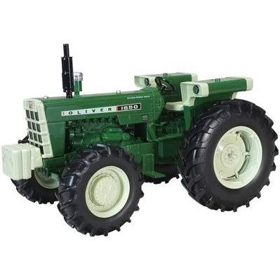Oliver 1650 Front Wheel Assist 1:16 Scale Diecast Model Tractor - Speccast - SCT684