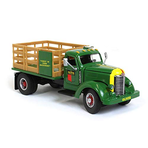 Oliver KB-8 Stake Bed Truck Green 1:50 Scale Diecast Model - Speccast - SCT706