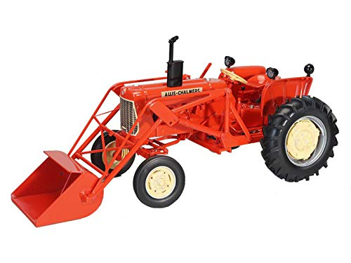 Allis Chalmers D15 Wide Front Tractor w/ Loader Orange Classic Series 1:16 Diecast Model - Speccast - SCT710