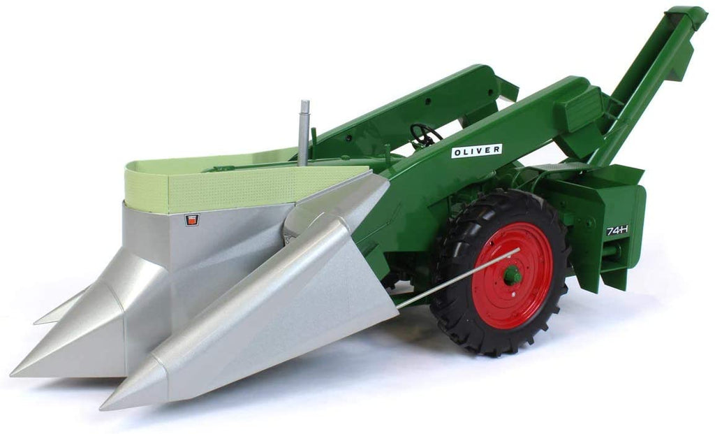 Oliver Super 88 Narrow Front with 74H Mounted Corn Picker 1:16 Diecast Model - Spec Cast - SCT730