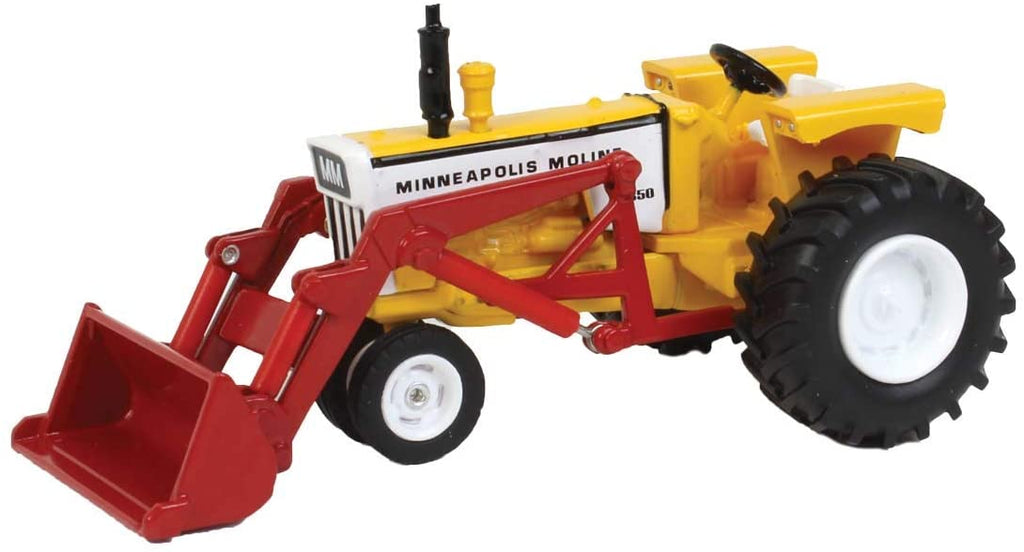 Minneapolis Moline G850 with Front End Loader 1:64 Diecast Model Tractor - Spec Cast - SCT732