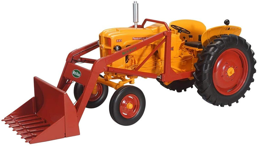 Minneapolis Moline 445 Wide Front Tractor with Loader 1:16 Diecast Model - Speccast - SCT745