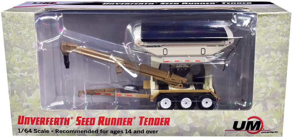 Unverferth 3755XL Seed Runner Tender 1:64 Diecast Model - SpecCast - UBC001