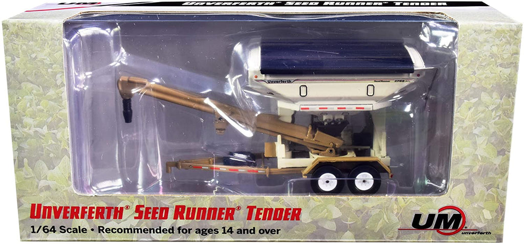 Unverferth 2755XL Seed Runner Tender 1:64 Diecast Model - SpecCast - UBC002