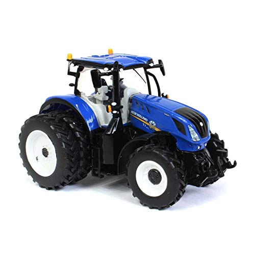 New Holland T7.315 Tractor w/ Dual Wheels 1:64 Diecast Model - SpecCast - ZJD1832