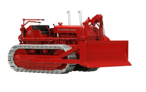 International TD-24 Crawler w Cable Blade, High Detail 1:25 Scale Diecast - SpecCast - ZJD1844