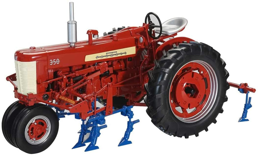 International Farmall 350 with Front and Rear Cultivators 1:16 Diecast Model - SpecCast - ZJD1852