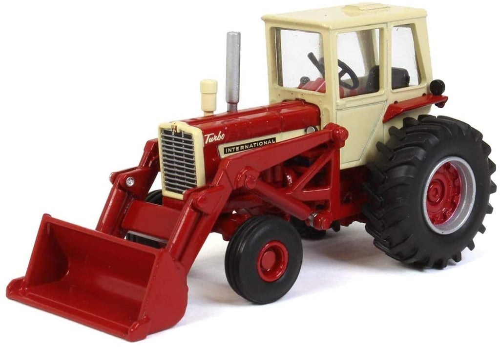 International Harvester 1256 Cab with Loader 1:64 Diecast Model - SpecCast - ZJD1881