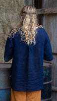 Mockingjay Blouse Rogue Linen Designer Clothing