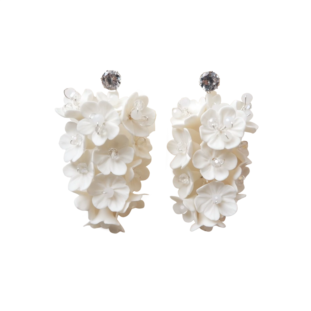 Magnolia Drape Earrings