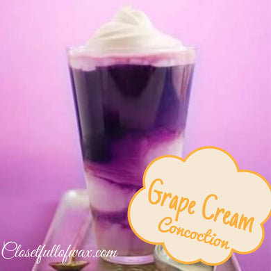 Grape Cream Concoction - Closet Full of Wax