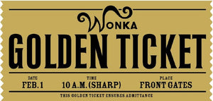 I got a golden ticket - Closet Full of Wax