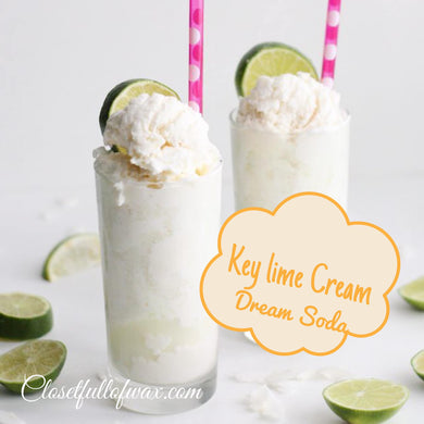 Key lime Cream Dream Soda - Closet Full of Wax