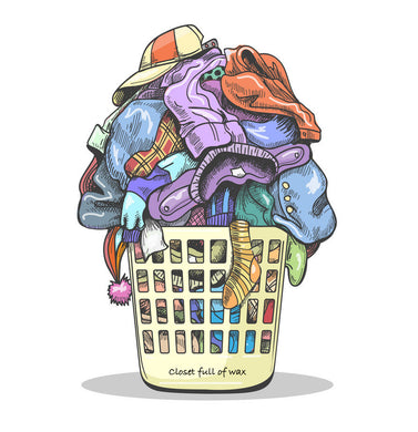Laundry Problems - Closet Full of Wax