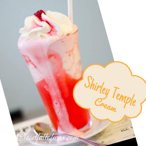 Shirley Temple Cream - Closet Full of Wax