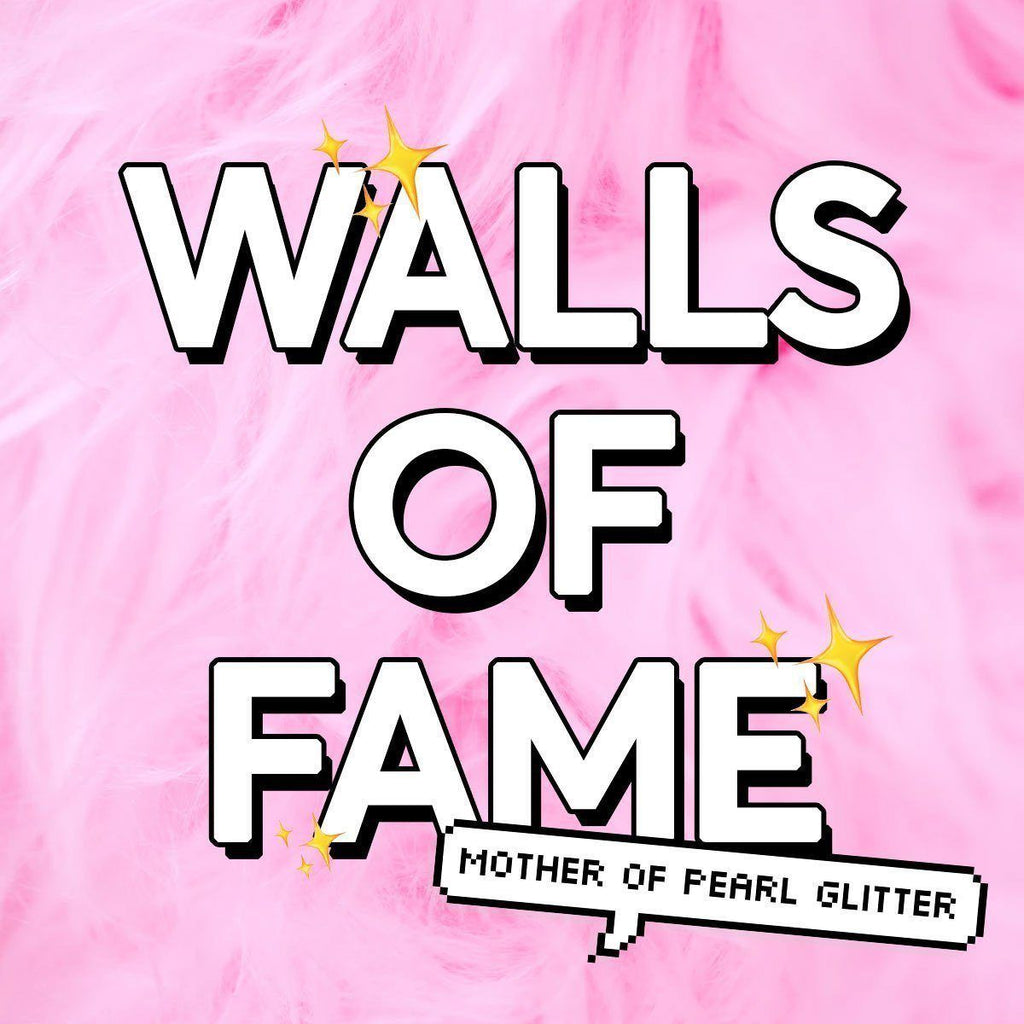Walls of Fame | Mother of Pearl Glitter