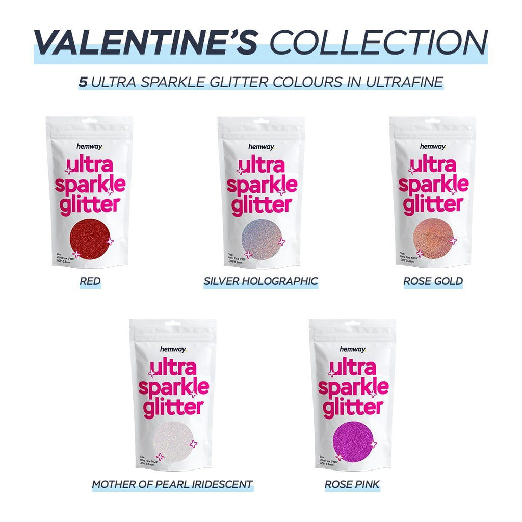 Product image for hemway ultrafine ultra sparkle glitter valentine's collection