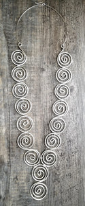 Big Spiral Necklace