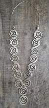 Load image into Gallery viewer, Spiral Necklace