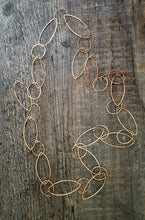 Load image into Gallery viewer, OV Long Bronze Necklace