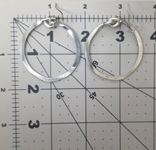 "Load image into Gallery viewer, Thick Hoop Earrings 1""3/4"