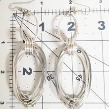 Load image into Gallery viewer, Long Multiple Oval Earrings