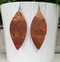 Load image into Gallery viewer, Copper Leaf Earrings