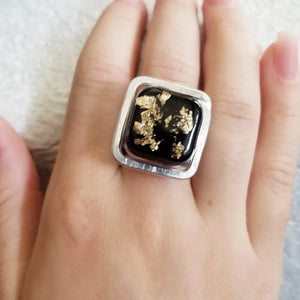 Black & Gold Ring