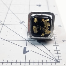 Load image into Gallery viewer, Black & Gold Ring