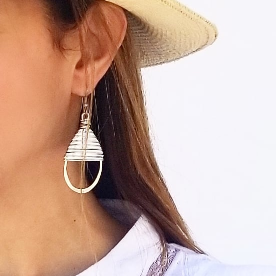 Medium Gotal Earrings