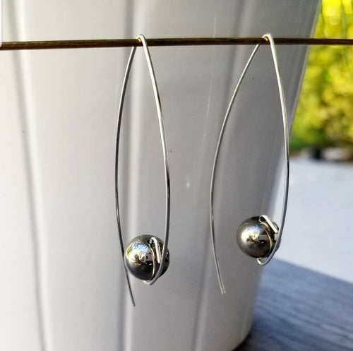 Long Simple Earrings
