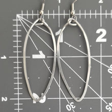Load image into Gallery viewer, Long Hoop Earrings