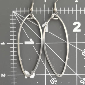Long Hoop Earrings