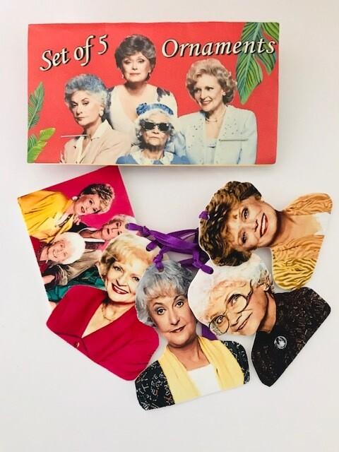 Choose Your Own Golden Girls Ornaments - Set 1